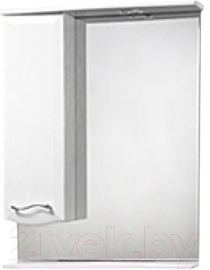 Шкаф с зеркалом для ванной Акваль Грант 50 (В1.1.38.2.9.1) - общий вид