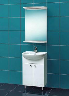 Зеркало для ванной Акваль Порто 50 (B2.1.50.1.9.0) - в интерьере