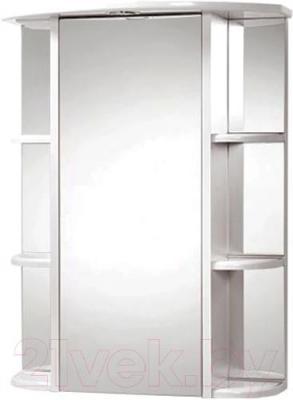 Шкаф с зеркалом для ванной Акваль Порто 60 (В2.1.39.2.9.1)