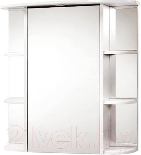 Шкаф с зеркалом для ванной Акваль