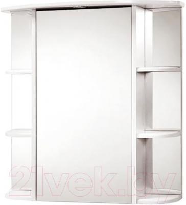 Шкаф с зеркалом для ванной Акваль Порто 75 (В2.1.39.1.9.2)