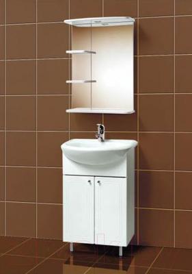 Зеркало для ванной Акваль Овация 55 (В2.3.33.1.9.0) - в интерьере