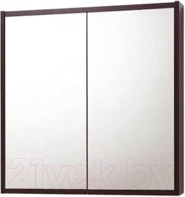 Шкаф с зеркалом для ванной Акваль Карина 70 (ЕК.04.70.00.N)