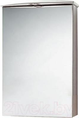 Шкаф с зеркалом для ванной Акваль Эмили 47 (AL.04.47.02.L)