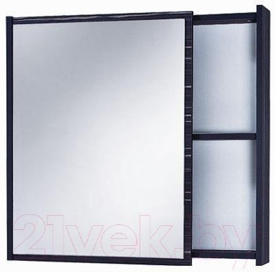 Шкаф с зеркалом для ванной Акваль Элиза 75 (АЕ.04.75.00.L)
