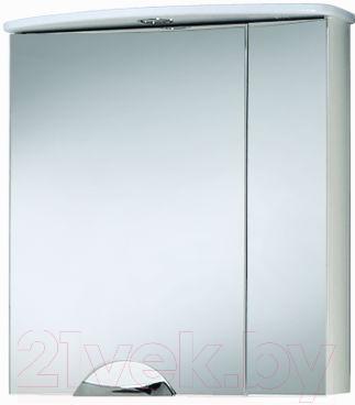 Шкаф с зеркалом для ванной Акваль Аврора 65 (ЕА.04.65.00.L)