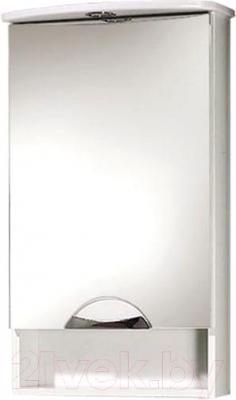 Шкаф с зеркалом для ванной Акваль Аврора 60 (EA.04.60.00.L)