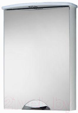 Шкаф с зеркалом для ванной Акваль Аврора 50 (EA.04.50.00.L)