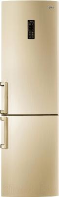 Холодильник с морозильником LG GA-B489ZGKZ - общий вид