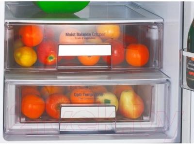 Холодильник с морозильником LG GA-B489ZGKZ