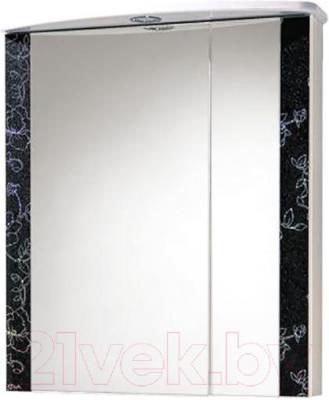 Шкаф с зеркалом для ванной Акваль Токио 60 (ТОКИО.04.60.02.L)