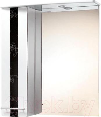 Шкаф с зеркалом для ванной Акваль Токио 70 (ТОКИО.04.70.02.L)