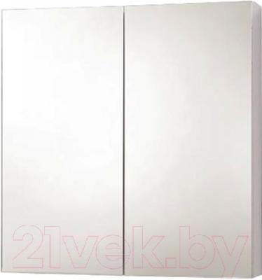 Шкаф с зеркалом для ванной Акваль Эмили 66 (AL.04.66.02.N)