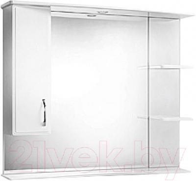 Зеркало для ванной Акваль Эмили 105 (AL.04.05.02.L) - общий вид