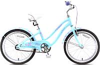 Детский велосипед Stels Pilot 240 Girl 1sp (20, голубой/пурпурный) -