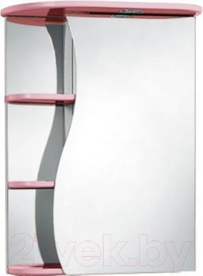 Шкаф с зеркалом для ванной Акваль Милана 50 (АМ.04.50.01.R)