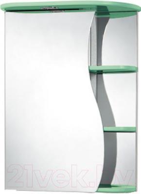 Шкаф с зеркалом для ванной Акваль Милана 50 (AM.04.50.02.L)