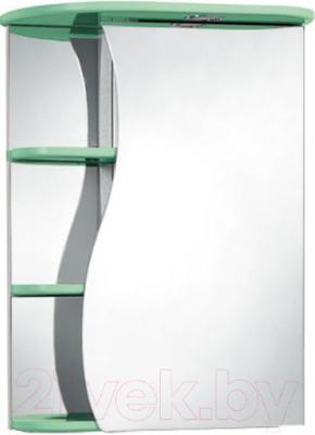 Шкаф с зеркалом для ванной Акваль Милана 50 (АМ.04.50.02.R)