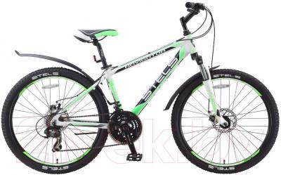 Велосипед Stels Navigator 610 MD (19.5, серый, черный, салатовый) - общий вид