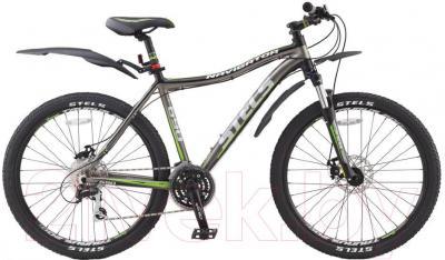 Велосипед Stels Navigator 690 MD (19.5, серый, черный, зеленый) - общий вид