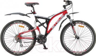 Велосипед Stels Adrenalin V (26, черный, белый, красный) - общий вид