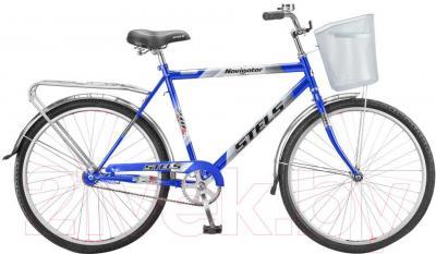 Велосипед Stels Navigator 210 Gent (26, голубой, серый) - общий вид