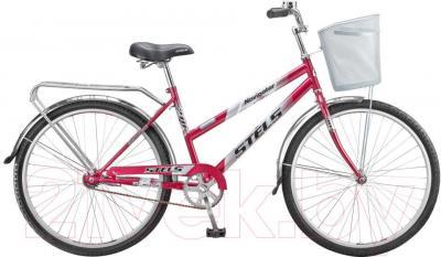 Велосипед Stels Navigator 210 Lady (пурпурный, серый) - общий вид