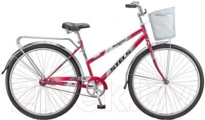 Велосипед Stels Navigator 310 Lady (28, пурпурный, серебро) - общий вид