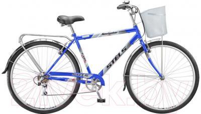Велосипед Stels Navigator 350 (28, синий, серебро) - общий вид