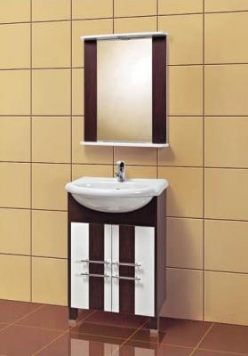 Зеркало для ванной Акваль Сеул 60 (СЕУЛ.04.60.00.N) - в интерьере