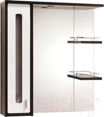 Шкаф с зеркалом для ванной Акваль Бали 75 (БАЛИ.04.75.02.L)