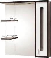 Шкаф с зеркалом для ванной Акваль Бали 75 (БАЛИ.04.75.02.R) -