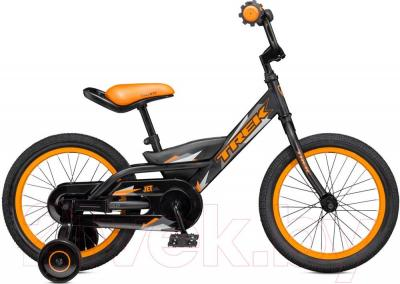 Детский велосипед Trek Jet 16 (16, черный, 2015) - общий вид