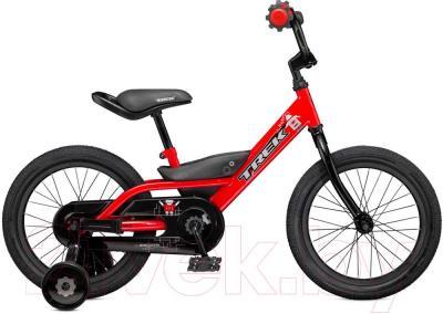 Детский велосипед Trek Jet 16 (16, красный, 2015) - общий вид
