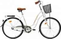 Велосипед Aist 26-210 (белый, с корзиной) -