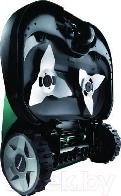 Газонокосилка-робот Robomow RS612 - вид сзади