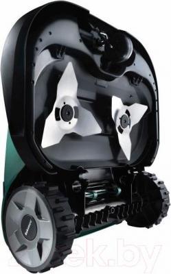 Газонокосилка-робот Robomow RS622 - вид сзади