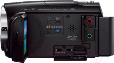 Видеокамера Sony HDR-PJ620B - вид сбоку
