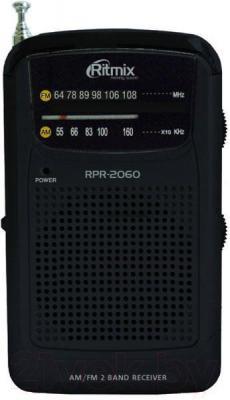 Радиоприемник Ritmix RPR-2060 (черный) - общий вид