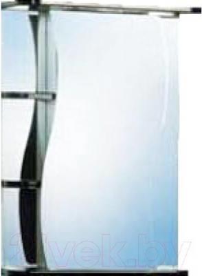 Шкаф с зеркалом для ванной Акваль Виктория 50 (ЕВ.04.50.00.R)