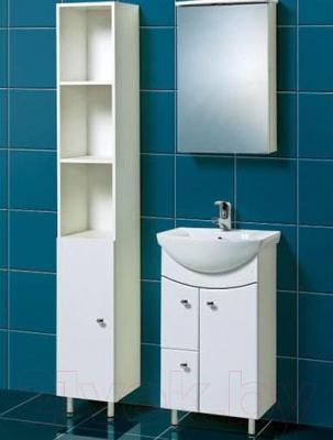 Шкаф-пенал для ванной Акваль Порто (В2.1.15.1.0.0)