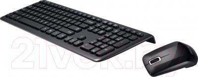 Клавиатура+мышь Asus W3000 (чёрный)