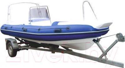 Надувная лодка Велес R-520 - вид сбоку