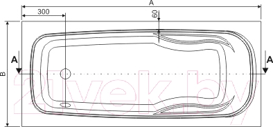 Ванна акриловая Sanplast WP/EKOPLUS 75x150