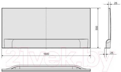 Экран для ванны Sanplast OWP/CLa 160