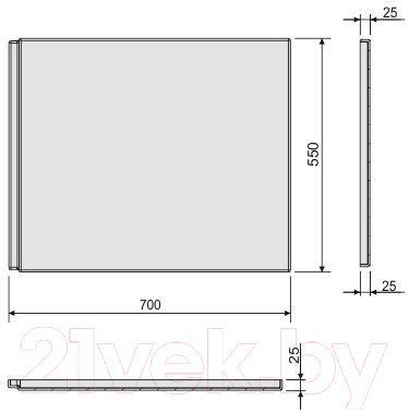 Экран для ванны Sanplast OWP/CLa 70