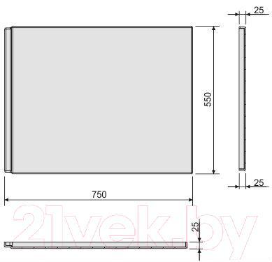 Экран для ванны Sanplast OWP/CLa 75