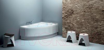 Ванна акриловая Cersanit Kaliope 153x100 L (с ножками) - в интерьере