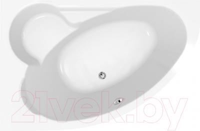 Ванна акриловая Cersanit Kaliope 153x100 L (с ножками)