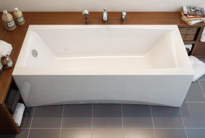 Ванна акриловая Cersanit Virgo 170x75 (с ножками) - в интерьере